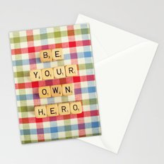 Be Your Own Hero Stationery Cards