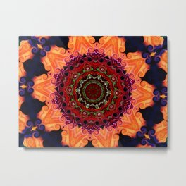 Crazy Flower Art #86 Metal Print