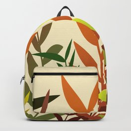 Autumn Leaves light yellow Backpack