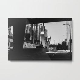 DTLA Underpass Metal Print
