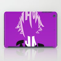 soul eater iPad Cases featuring crona soul eater  by Rebecca McGoran