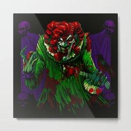 Roker the Joker (Horror) Metal Print