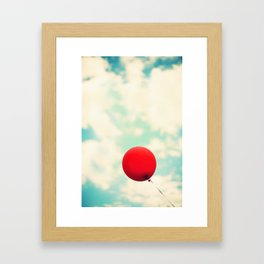 Nowhere To Go But Up Framed Art Print