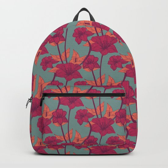 Vintage Blossoms Backpack