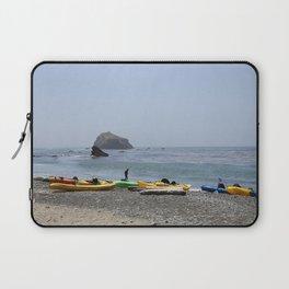 Canoes At Bodega Bay Laptop Sleeve