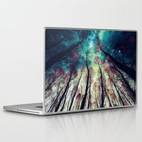 nordic Laptop & iPad Skins featuring NORDIC LIGHTS by RIZA PEKER