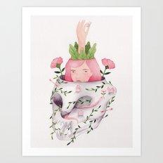 Wild creature Art Print