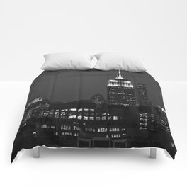 Empire State of Mind Comforters
