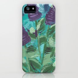 Abstract Lupins iPhone Case