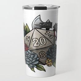 Barbarian Class D20 - Tabletop Gaming Dice Travel Mug