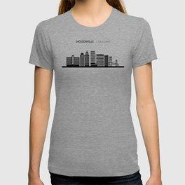 Jacksonville Skyline Travel T-shirt