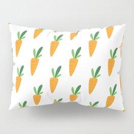 Carrot Pattern Pillow Sham
