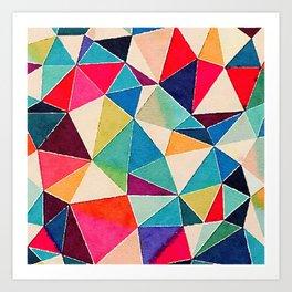 Brights Art Print