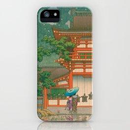 Kawase Yusui made Nara Kasuga Taisha iPhone Case