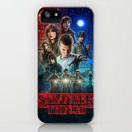 Stranger Movie iPhone Case