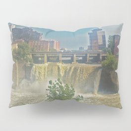 High Falls  on the Genesee River Pillow Sham