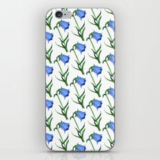 Watercolor hand-drawn flowers pattern  iPhone & iPod Skin