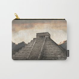 Mayan pyramid - Mexico Carry-All Pouch