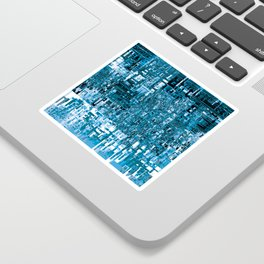 Circuitry Abstract Sticker