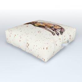 Hungarian Vizsla Dog Outdoor Floor Cushion