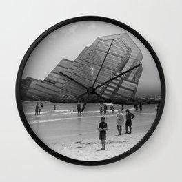 Crumble Wall Clock