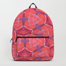 Pink and Lavender Abstract Backpack