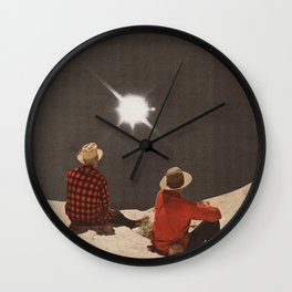 Pinhole Wall Clock