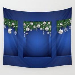 Christmas shopwindow Wall Tapestry