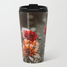 autumn flowers #decor #society6 #buyart Metal Travel Mug