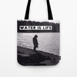 #WATERISLIFE fig. 1 Tote Bag