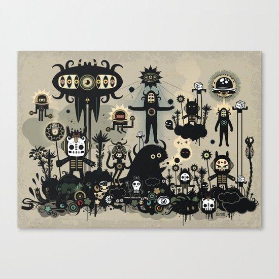 Hedgehog Divinity  Canvas Print