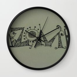 kizomba Wall Clock
