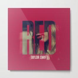 Red Taylor Metal Print