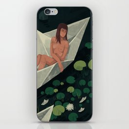 Travelers iPhone Skin