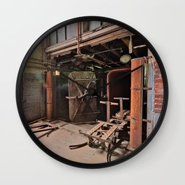 Abandoned Lonaconing Silk Mill Wall Clock