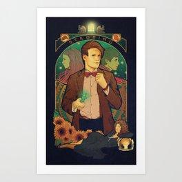 Geronimo! Art Print