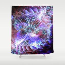 Spark of Creation Shower Curtain