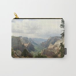 Above Zion Canyon Carry-All Pouch