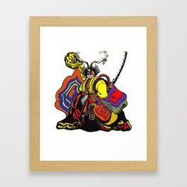 shogun chop Framed Art Print