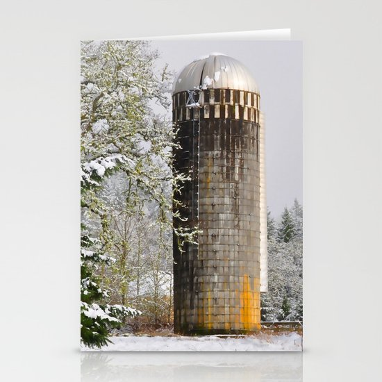 Remnants of a Simpler Time - The Silo Stationery Cards
