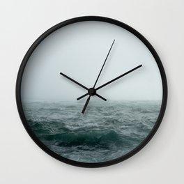 Choppy Seas Wall Clock