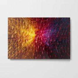 Lights 5 Metal Print