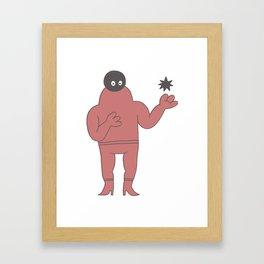 star vibes Framed Art Print