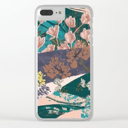 Flower Textures 03 Clear iPhone Case
