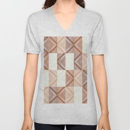 Mudcloth Tiles 02 #society6 #pattern Unisex V-Neck