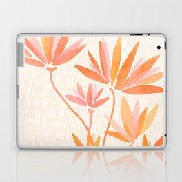 Basking In The Summer Sun / Japanese Botanical Woodblock Laptop & iPad Skin