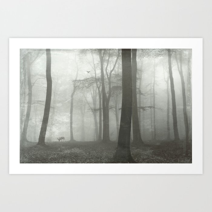 all is quite Art Print
