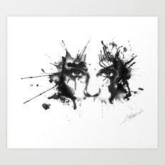 Eyez Art Print