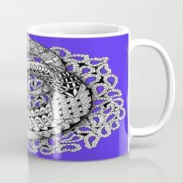 Zentangle Mobius Purple Coffee Mug
