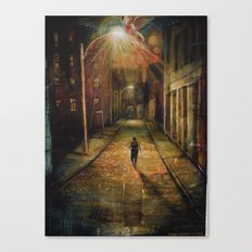 Minister Of God's Justice Canvas Print